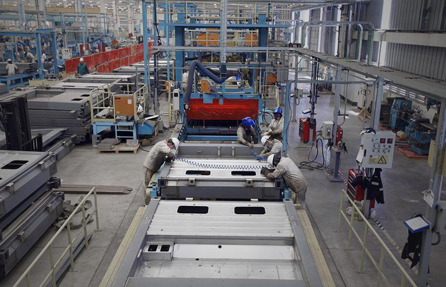 Nave Industrial Planta Maersk